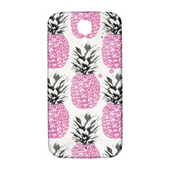 Cute Pink Pineapple Samsung Galaxy S4 I9500/i9505  Hardshell Back Case by Brittlevirginclothing