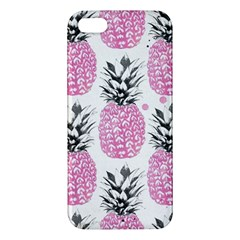 Cute Pink Pineapple Iphone 5s/ Se Premium Hardshell Case by Brittlevirginclothing