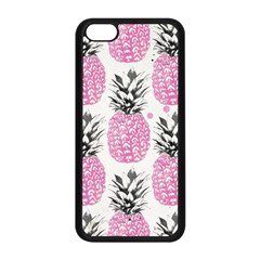 Cute Pink Pineapple Apple Iphone 5c Seamless Case (black) by Brittlevirginclothing