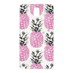 Cute Pink Pineapple Samsung Galaxy Note 3 N9005 Hardshell Back Case by Brittlevirginclothing