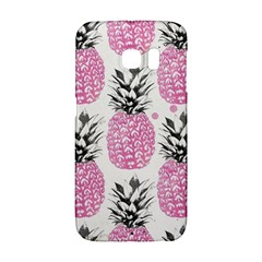 Cute Pink Pineapple Galaxy S6 Edge by Brittlevirginclothing