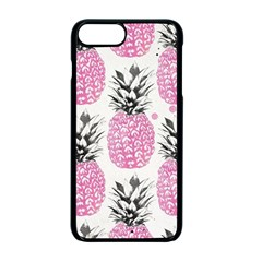 Cute Pink Pineapple Apple Iphone 7 Plus Seamless Case (black) by Brittlevirginclothing