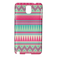 Lovely Pink Bohemian Samsung Galaxy Note 3 N9005 Hardshell Case by Brittlevirginclothing