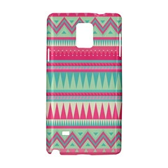 Lovely Pink Bohemian Samsung Galaxy Note 4 Hardshell Case
