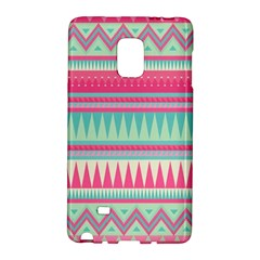 Lovely Pink Bohemian Galaxy Note Edge by Brittlevirginclothing