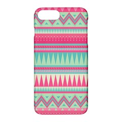 Lovely Pink Bohemian Apple Iphone 7 Plus Hardshell Case by Brittlevirginclothing