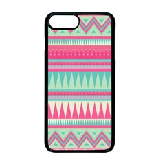 Lovely Pink Bohemian Apple Iphone 7 Plus Seamless Case (black) by Brittlevirginclothing