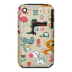 Cute Small Cartoon Characters Iphone 3s/3gs by Brittlevirginclothing