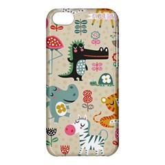 Cute Small Cartoon Characters Apple Iphone 5c Hardshell Case by Brittlevirginclothing
