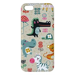 Cute Small Cartoon Characters Iphone 5s/ Se Premium Hardshell Case