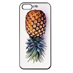 Pineapple Apple Iphone 5 Seamless Case (black) by Brittlevirginclothing