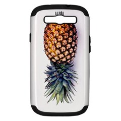 Pineapple Samsung Galaxy S Iii Hardshell Case (pc+silicone) by Brittlevirginclothing