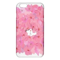 Cute Hiding Kitty Iphone 6 Plus/6s Plus Tpu Case