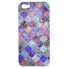 Gorgeous Blue Moroccan Mosaic Apple Iphone 5 Hardshell Case