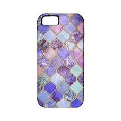 Gorgeous Blue Moroccan Mosaic Apple Iphone 5 Classic Hardshell Case (pc+silicone) by Brittlevirginclothing