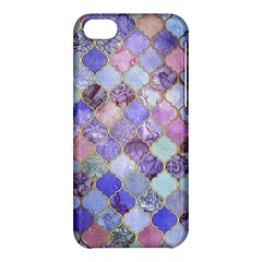 Gorgeous Blue Moroccan Mosaic Apple Iphone 5c Hardshell Case by Brittlevirginclothing