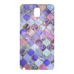 Gorgeous Blue Moroccan Mosaic Samsung Galaxy Note 3 N9005 Hardshell Back Case by Brittlevirginclothing