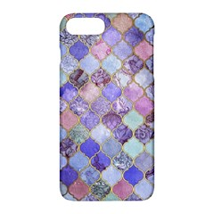 Gorgeous Blue Moroccan Mosaic Apple Iphone 7 Plus Hardshell Case by Brittlevirginclothing