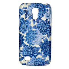 Blue Flowers Galaxy S4 Mini by Brittlevirginclothing