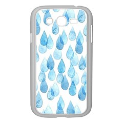 Rain Drops Samsung Galaxy Grand Duos I9082 Case (white) by Brittlevirginclothing