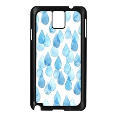 Rain Drops Samsung Galaxy Note 3 N9005 Case (black) by Brittlevirginclothing