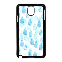 Rain Drops Samsung Galaxy Note 3 Neo Hardshell Case (black) by Brittlevirginclothing