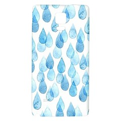 Rain Drops Galaxy Note 4 Back Case by Brittlevirginclothing