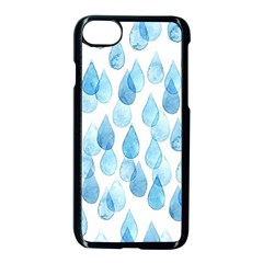 Rain Drops Apple Iphone 7 Seamless Case (black) by Brittlevirginclothing