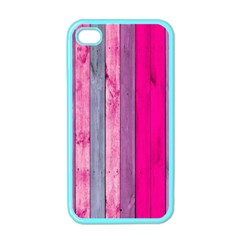 Pink Wood  Apple Iphone 4 Case (color) by Brittlevirginclothing