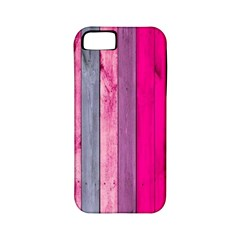 Pink Wood  Apple Iphone 5 Classic Hardshell Case (pc+silicone) by Brittlevirginclothing