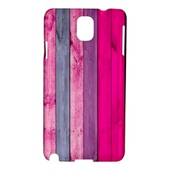 Pink Wood  Samsung Galaxy Note 3 N9005 Hardshell Case by Brittlevirginclothing
