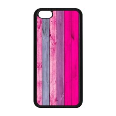 Pink Wood  Apple Iphone 5c Seamless Case (black) by Brittlevirginclothing
