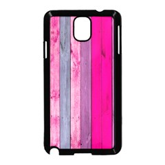 Pink Wood  Samsung Galaxy Note 3 Neo Hardshell Case (black) by Brittlevirginclothing