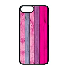 Pink Wood  Apple Iphone 7 Plus Seamless Case (black) by Brittlevirginclothing