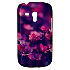 Blurry Lila Flowers Galaxy S3 Mini by Brittlevirginclothing