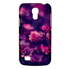 Blurry Lila Flowers Galaxy S4 Mini by Brittlevirginclothing