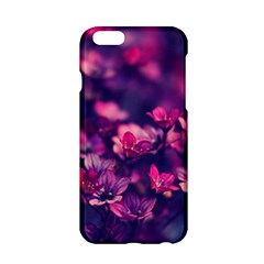 Blurry Lila Flowers Apple Iphone 6/6s Hardshell Case by Brittlevirginclothing