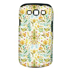 Vintage Pastel Flowers Samsung Galaxy S Iii Classic Hardshell Case (pc+silicone) by Brittlevirginclothing