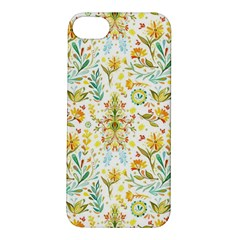 Vintage Pastel Flowers Apple Iphone 5s/ Se Hardshell Case by Brittlevirginclothing
