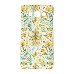 Vintage Pastel Flowers Samsung Galaxy A5 Hardshell Case  by Brittlevirginclothing