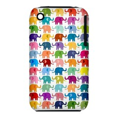 Cute Colorful Elephants Iphone 3s/3gs