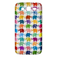 Cute Colorful Elephants Samsung Galaxy Mega 5 8 I9152 Hardshell Case  by Brittlevirginclothing