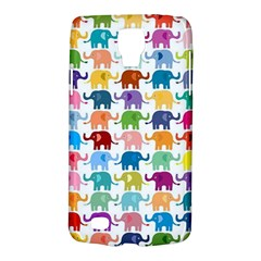 Cute Colorful Elephants Galaxy S4 Active by Brittlevirginclothing