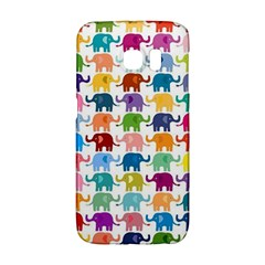 Cute Colorful Elephants Galaxy S6 Edge by Brittlevirginclothing