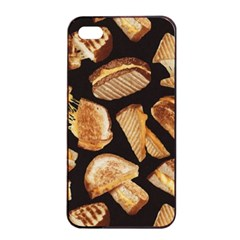 Delicious Snacks Apple Iphone 4/4s Seamless Case (black) by Brittlevirginclothing