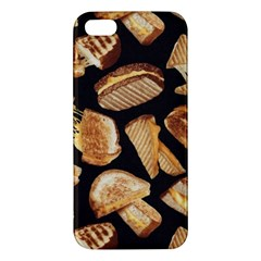 Delicious Snacks Apple Iphone 5 Premium Hardshell Case by Brittlevirginclothing