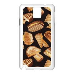 Delicious Snacks Samsung Galaxy Note 3 N9005 Case (white) by Brittlevirginclothing
