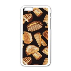 Delicious Snacks Apple Iphone 6/6s White Enamel Case by Brittlevirginclothing
