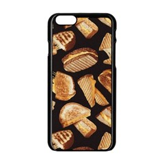 Delicious Snacks Apple Iphone 6/6s Black Enamel Case by Brittlevirginclothing