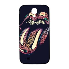 The Rolling Stones Glowing Samsung Galaxy S4 I9500/i9505  Hardshell Back Case by Brittlevirginclothing